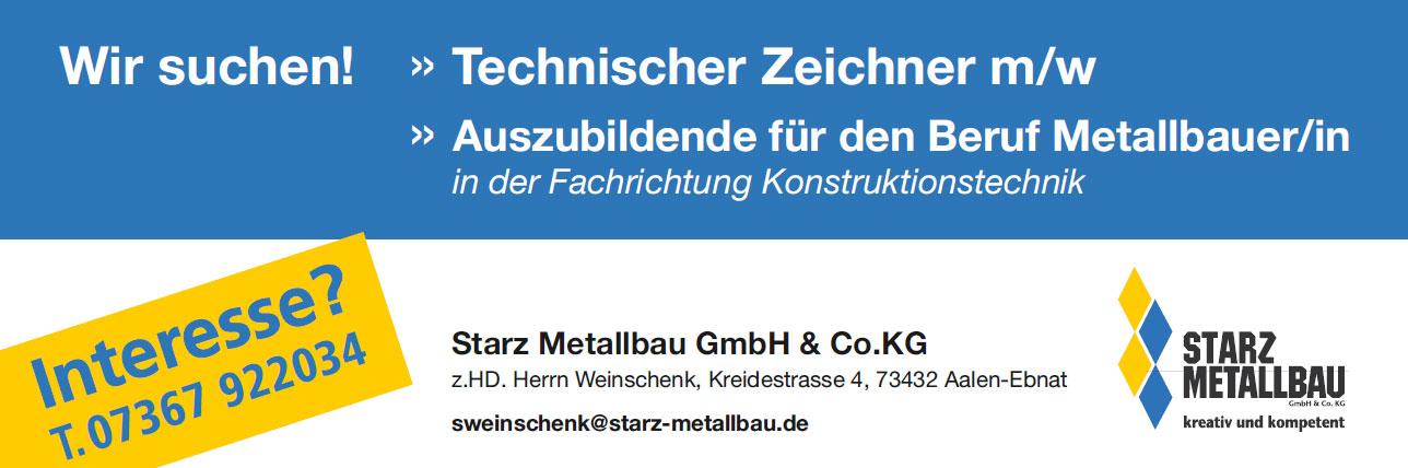 Jobs bei Starz Metallbau